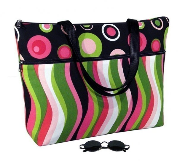 Padded Laptop Tote Bag case fits up to 17 inch PC ecb4