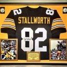 Premium Framed John Stallworth Signed Steelers Jersey JSA COA