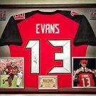 Premium Framed Mike Evans Signed Tampa Bay Buccaneers Jersey - JSA COA