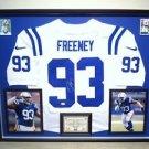 Premium Framed Dwight Freeney Autographed Colts Nike Elite Jersey Signed JSA COA