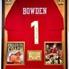 Premium Framed Bobby Bowden Signed Florida State Seminoles Jersey PSA COA - FSU