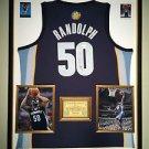 Premium Framed Zach Randolph Autographed Memphis Grizzlies Adidas Jersey JSA COA