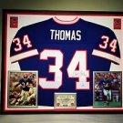 Premium Framed Thurman Thomas Signed Buffalo Bills Mitchell & Ness Jersey PSA