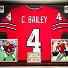 Premium Framed Champ Bailey Autographed Georgia Bulldogs Jersey JSA COA  broncos