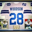 Premium Framed Darren Woodson Autographed Dallas Cowboys Jersey Signed JSA COA
