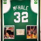 Premium Framed Kevin McHale Signed Boston Celtics Jersey - JSA COA