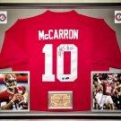 Premium Framed A.J. McCarron Signed Alabama Crimson Tide Nike Jersey - Radtke + BAMA COA - AJ
