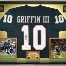Premium Framed Robert Griffin III Autographed / Signed Baylor Bears Jersey - JSA COA - RG3