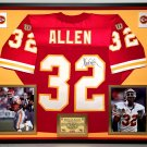 Premium Framed Marcus Allen Signed Kansas City Chiefs Official Wilson Pro Line Jersey - JSA LOA