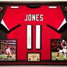 Premium Framed Julio Jones Autographed / Signed Atlanta Falcons Jersey - JSA COA
