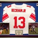 Premium Odell Beckham Jr.  Autographed / Signed New York Giants Official Nike Jersey - Steiner COA