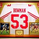 Premium Navorro Bowman  Autographed / Signed San Francisco 49ers Jersey - Steiner COA