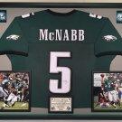 Premium Framed Donovan McNabb Autographed Philadelphia Eagles Jersey - JSA COA