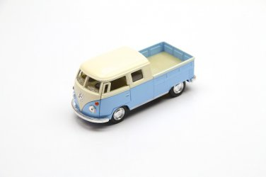 1963 Volkswagen Bus Double Cab Pickup (Pastel Color) Kinsmart diecast car model
