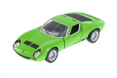 1971 Lamborghini Miura P400 SV Kinsmart diecast car model