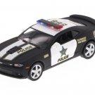 2014 Chevy Camaro Police, Black Kinsmart diecast car model