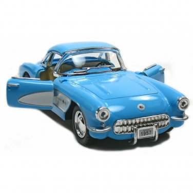 1957 Chevy Corvette 1:34 Scale Kinsmart diecast car model