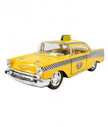 1957 Chevy Bel Air Coupe 1:40 Scale  Kinsmart diecast car model