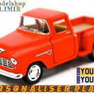 1955 Chevy Stepside Pick-Up 1/32 Red Kinsmart diecast car model