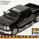 2014 Chevrolet Silverado black color Kinsmart diecast car model
