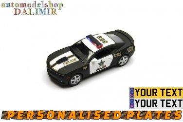 2014 Chevrolet Camaro Police 388 Kinsmart diecast car model
