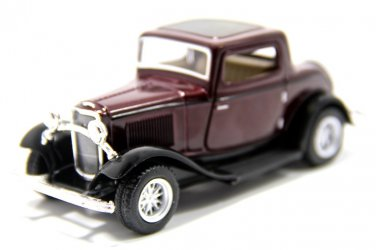 Ford 3-window coupe 1932 of Kinsmart diecast car model