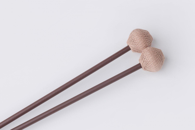Ashkatan S70 SOFT Marimba Mallets - Maple Handle, Brown Yarn