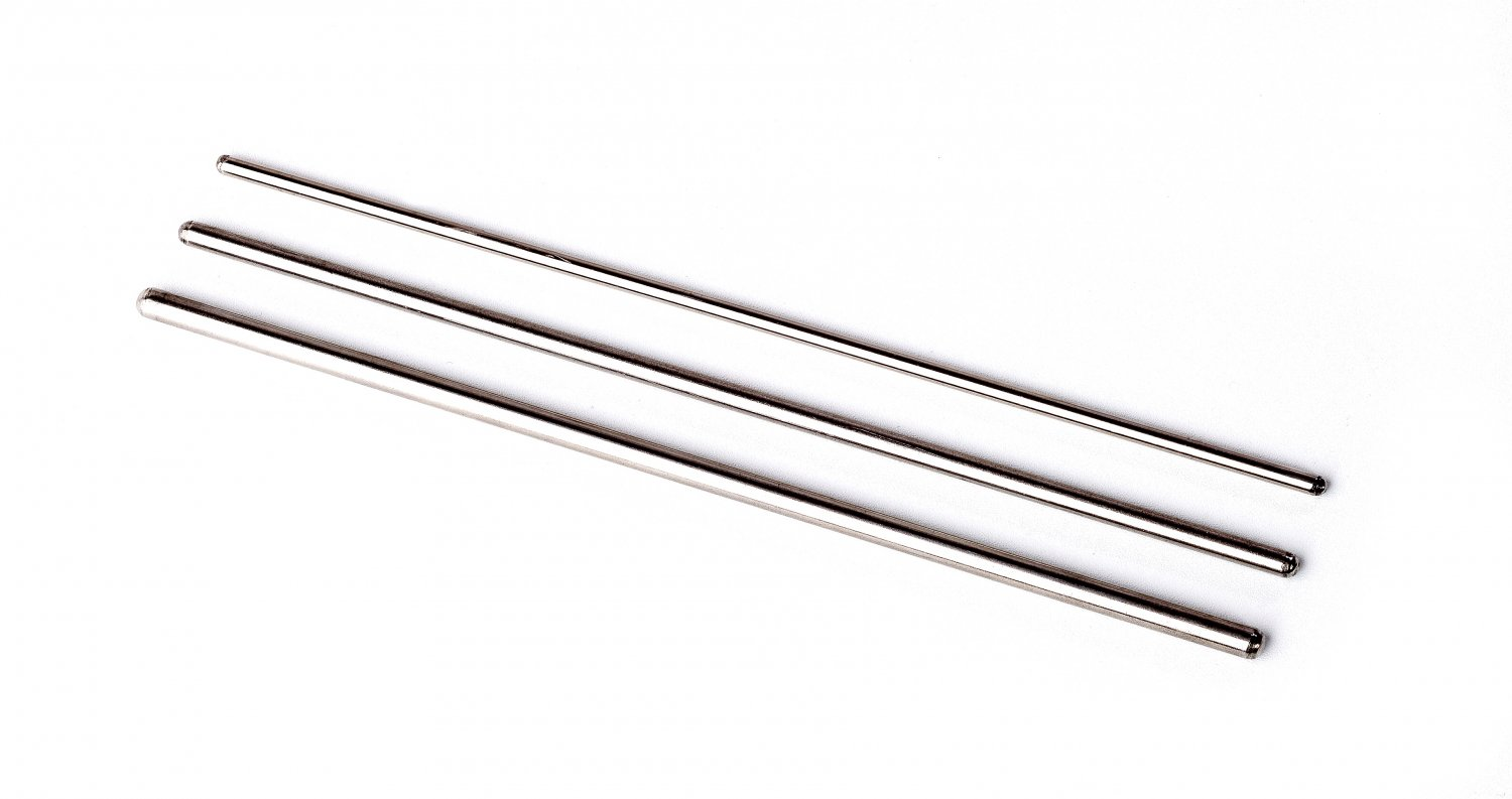 Pair of ASHKATAN ST SERIES PROFESSIONAL TRIANGLE BEATER - Stainless Steel, Made in EU