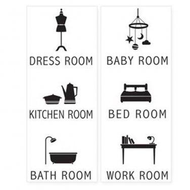 room sticker home decor