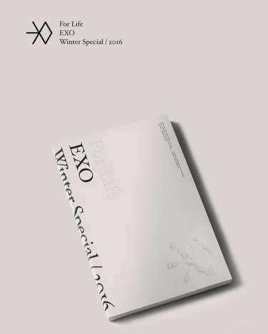 EXO-[FOR LIFE] 2016 Winter Special Album 2CD+POSTER+84p Photo Book+Sticker+Card