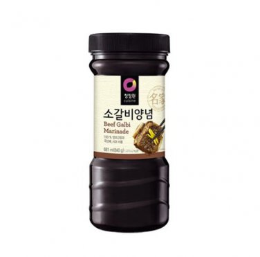 Korean Bulgogi Kalbi BBQ Sauce beef galbi sauce soy sauce 840g
