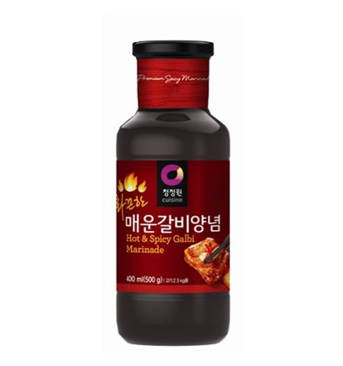 Korean spicy Bulgogi Kalbi BBQ Sauce galbi sauce 500g