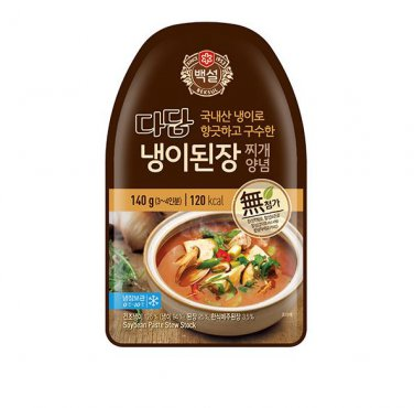 Korean SoyBean stew sauce Doenjang Jjigae Korean Traditional Dish 140g 5pc