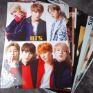 BTS 12 Poster Collection BANGTAN BOYS 12PCS Bromide + BTS Photo Sticker BTS New