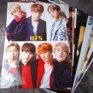 BTS 12 Poster Collection BANGTAN BOYS 12PCS Bromide + BTS Photo Sticker BTS New