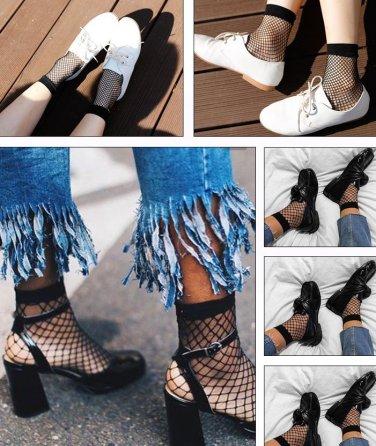 mesh socks women fashion socks 3pcs fashion leader