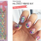 after stick this gel nail sticker  then cover top coat nail..  then dry with led gel nail lamp