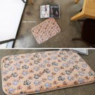 microfiber bear paw mat funny mat kitchen mat door mat home decor