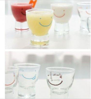 smile SOJU Shot Glass 6P Set unique jin tonic glass Whiskey Cup unique barware