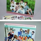 bts photo desk calendar 2018 2019 and sticker set BTS new