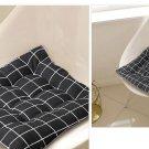black stripe cotton sitting mat black stripe cotton sitting cushion stripe chair