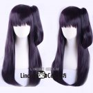 Netsuzou Trap NTR Cosplay Purple Wig 65cm