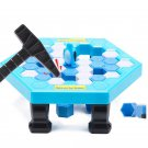 Crashed ice game Puzzle table games penguin ice pounding 20*22.5cm