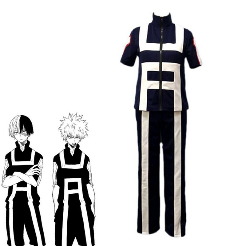 Boku no hero academia / My Hero Academia Athletic Wear 2 set Cosplay