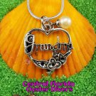 Grandma Heart Dangle Charm