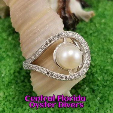 Loop A Pearl Ring 925SS
