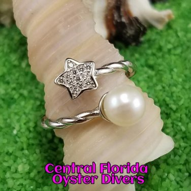 Rope & Star Ring 925SS