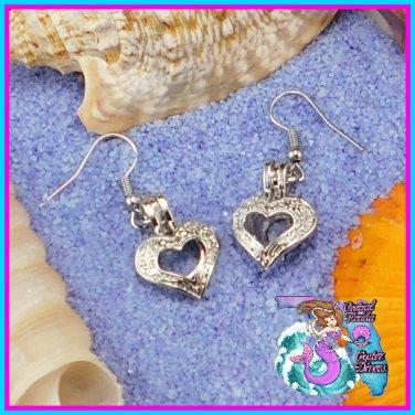 Fancy Heart Earrings