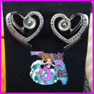 Heart Earrings 925SS