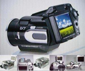 Digital Camcorder, 11M Pixel, 2.0-inch LCD, SD/MMC Slot, 16MB